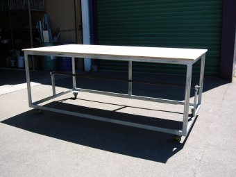 Packing Table Built to order in steel