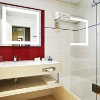 LED Bathroom Mirror Fitting Accor Novotel Wellington