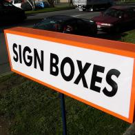 External Sign Box Design & Manufacture